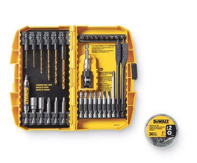 DeWalt Multi Size Combination Set Drilling and Driving Utility Set 64 pc.