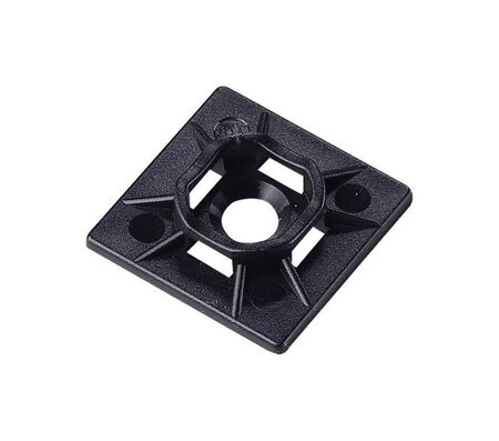Gardner Bender Black Cable Tie Mounting Base 5 pk