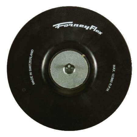 Forney Backing Pad 5/8 in. Dia. x 7 in. Dia.