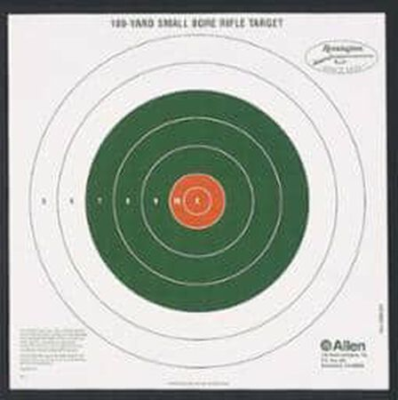 Allen Sight-In Targets Bullseye Style 100 Yard 12 Pack