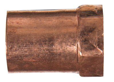 Elkhart 1/2 in. Dia. x 3/8 in. Dia. Copper To FIP Copper Pipe Adapter