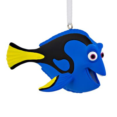 HALLMARK Dory Christmas Ornament Multicolored Resin 1.78 in. 1 pk