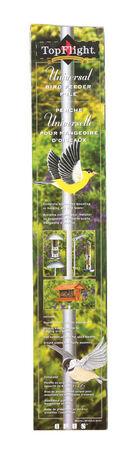 Perky-Pet Top Flight Bird Feeder Pole Steel
