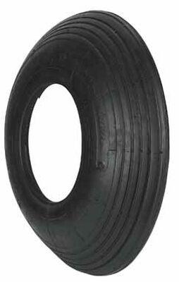 Arnold Wheelbarrow Tire 6 in. Dia. 500 lb. Butyl Rubber