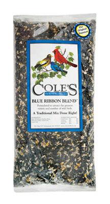 Cole's Blue Ribbon Blend Assorted Species Wild Bird Food Sunflower Seeds 10 lb.