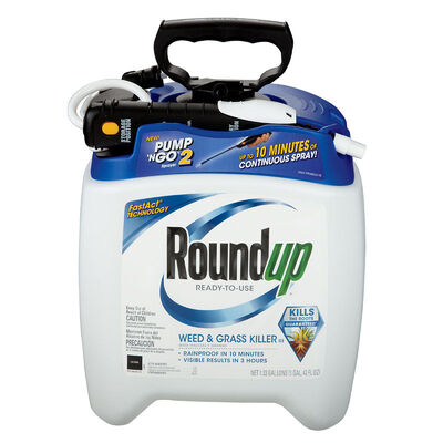 Roundup Pump N Go Weed and Grass Killer 1.33 gal.