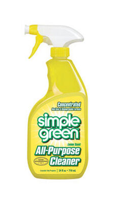 Simple Green Lemon Scent All Purpose Cleaner 24 oz. Liquid For Multi-Surface