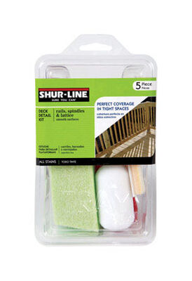 Shur-Line Deck Detail Kit 2 in. W For Smooth Surfaces