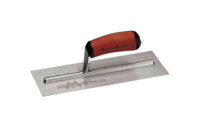 Marshalltown Steel Finishing Trowel 11 in. L x 4-1/2 in. W