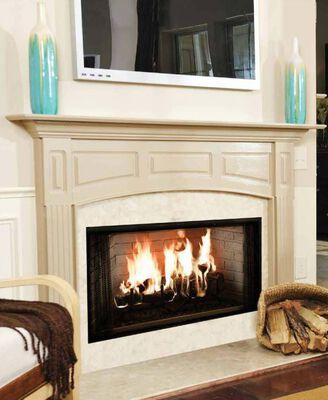 """36"""" Royalty Radiant Wood Burning Fireplace"""
