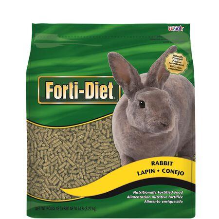 Kaytee Forti-Diet Pellets For Rabbits Food 5 lb.