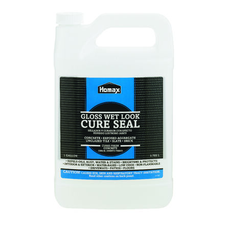 Homax Cure Seal Gloss Clear Water-Based Sealer 1 gal.