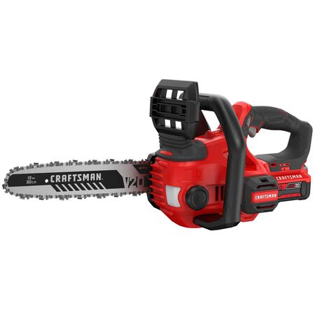 Craftsman 20V MAX 12 in. Battery Powered Chainsaw