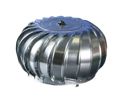 Air Vent Turbine Head 12.5 in. x 17.75 in. x 17.75 in. 17.75 in. 95 sq. in. 12 in. Internal Galvaniz