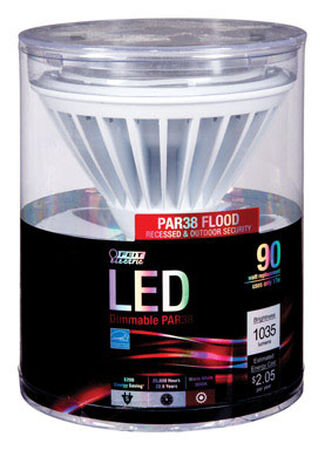 FEIT Electric 14 watts 930 lumens 3000 K Medium Base (E26) PAR38 Floodlight 90 watts equivalency