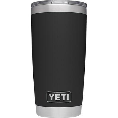 YETI Rambler Travel Black Insulated Tumbler w/Lid 1 pk 20 oz.
