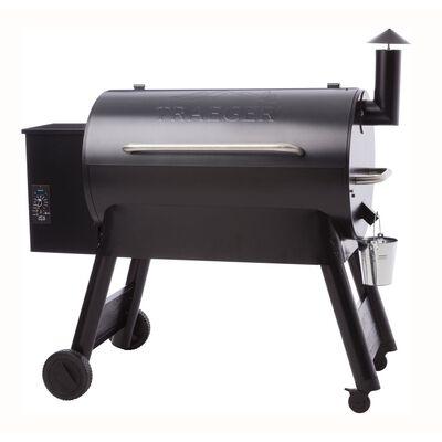 Traeger Pro Series 34 Wood Pellet 49 in. H Grill Blue 36 000 BTU