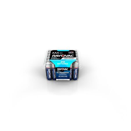 Rayovac AAA Alkaline Batteries 1.5 volts 30 pk