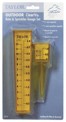 Taylor Rain Gauge 1.2 in. W x 7.8 in. L