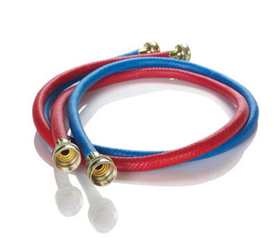 Ace 3/8 in. Dia. x 3/4 in. Dia. x 6 ft. L Washing Machine Hose Reinforced Coil