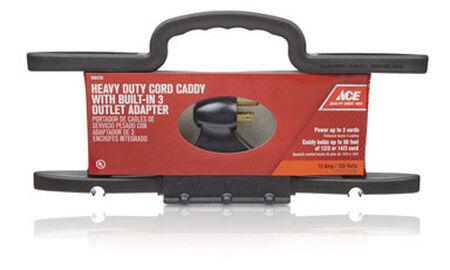 Ace Cord Wrap Heavy Duty 14/3 50 ft. Plastic 3 Conductor Black UL