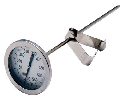 Bayou Classic Stainless Steel Grill Thermometer