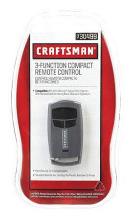 Craftsman Compact Garage Door Opener 3 Door