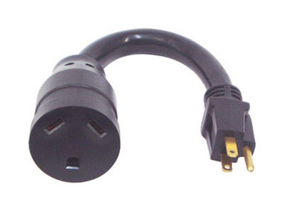 US Hardware RV Electrical Pigtail Adapter 1 pk