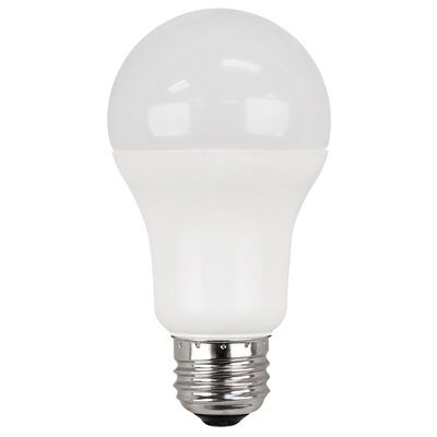 Ace LED Bulb 11.2 watts 1100 lumens 5000 K A-Line A19 75 watts equivalency 2 pk