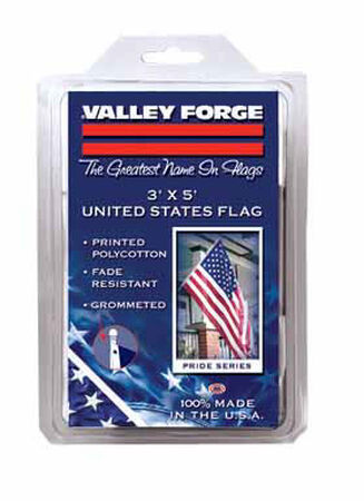 Valley Forge American Flag 3 ft. H x 5 ft. W