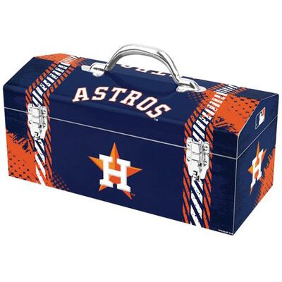 Houston Astros Art Deco Tool Box, Steel