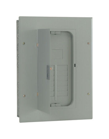 GE PowerMark Gold 125 amps 12 space 24 circuits 240 volts Plug-In Main Lug Circuit Breaker Panel