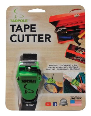 Tadpole 1 in. W Tape Cutter