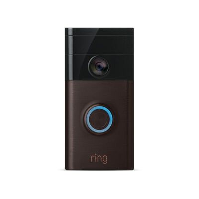 Ring Venetian Bronze Wireless Video Door Bell