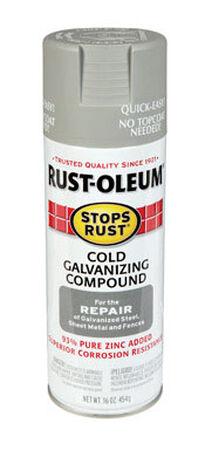 Rust-Oleum Stops Rust Gray Cold Galvanizing Compound Spray 16 oz.