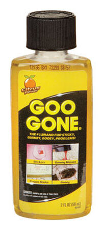 Goo Gone Odorless Adhesive and Grease Remover 2 oz.