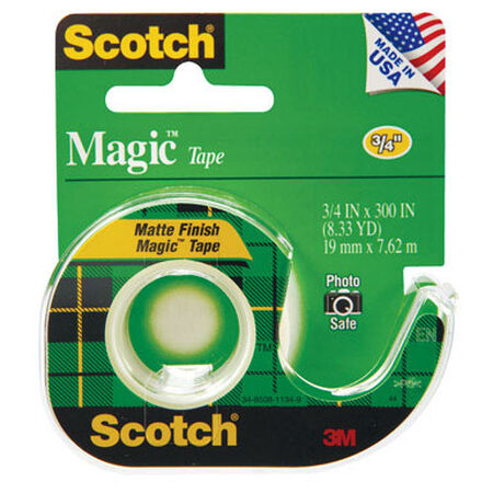 Scotch 3/4 in. W x 300 in. L Tape Clear