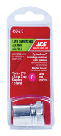 ACE Portable Dishwasher Adapter 55/64in. - 27F Chrome