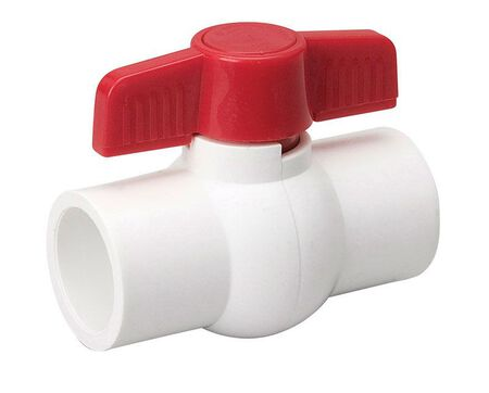 Mueller Ball Valve 1-1/2 in. Dia. PVC Ball