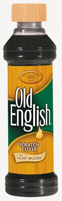 Old English 8 oz. Scratch Cover Polish Light Wood