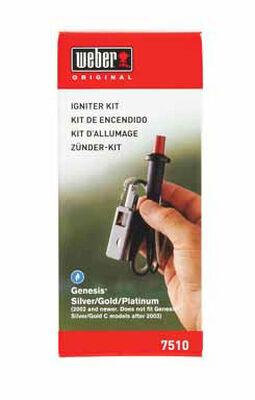 Weber Plastic Grill Igniter Kit 2-1/2 in. H x 3-7/8 in. W x 7-3/4 in. D
