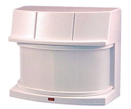 Heath Zenith Replacement Motion Sensor White Metal Motion-Sensing 500 watts