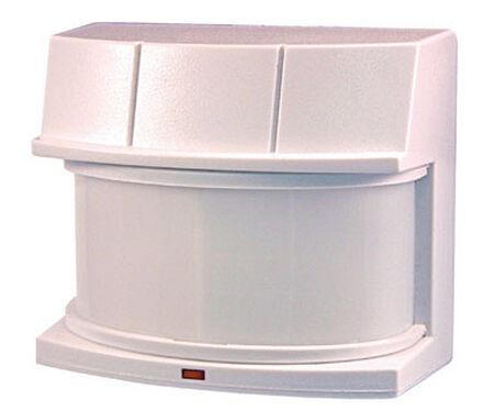 Heath Zenith Replacement Motion Sensor White Metal Motion-Sensing 500 watts