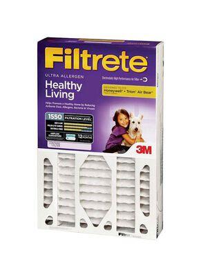 Filtrete 3M Clean Living 20 in. L x 20 in. W x 4 in. D Air Filter 11 MERV