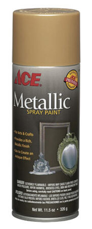 Ace Gold Plate Metallic Spray Paint 11.5 oz.