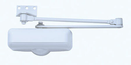 Tell Door Closer Hydraulic Grade 3 Ivory