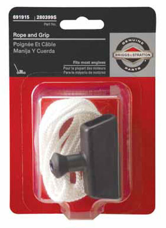 Briggs & Stratton Starter Rope and Grip For Most Engines