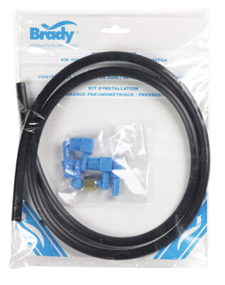 Brady Polyethylene Air Volume Control Installation Kit 1 in.