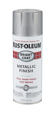 Rust-Oleum Stops Rust Chrome High Gloss Bright Coat Metallic Spray 11 oz.
