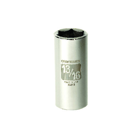 Craftsman 13/16 in. x 3/8 in. drive SAE 6 Point Deep Socket 1 pc.